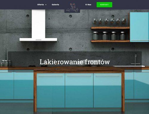 Strona www dla Lafronte